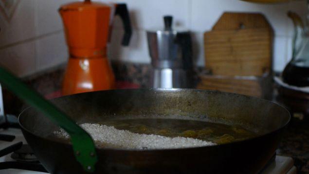 Sarten de arroz
